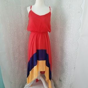 Paper Doll Mulri color Dress